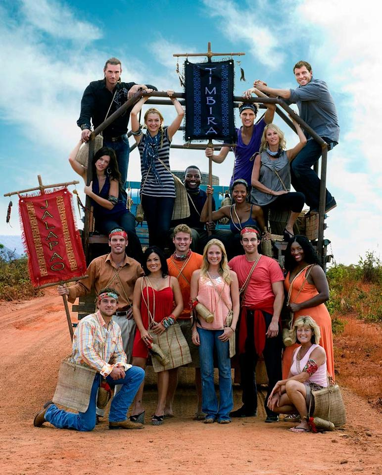 The cast of Survivor: Tocantins-The Brazilian Highlands.