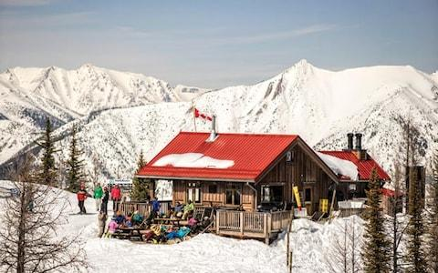 Panorama mountain hut - the ski resort has terrain to suit all levels