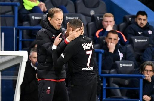 PSG coach Thomas Tuchel has tried to play down his very visible spat with Kylian Mbappe during the Ligue 1 leaders' weekend win over Montpellier