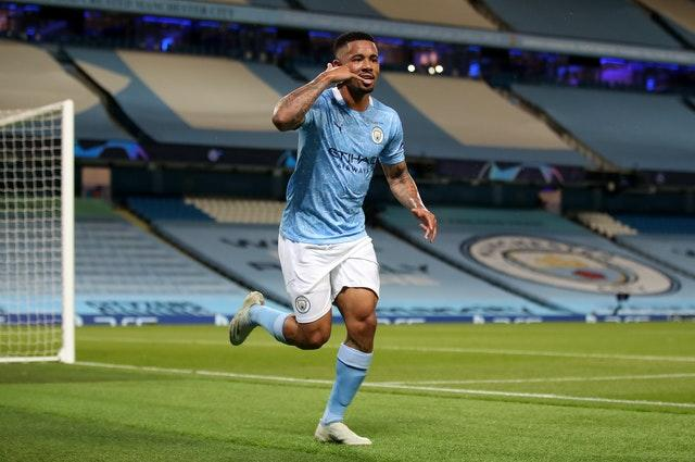 Gabriel Jesus will also be sidelined for Arsenal's visit (Nick Potts/PA)