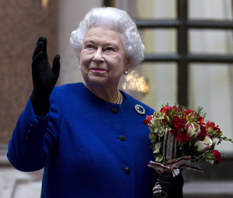 Queen tops Britain's female power list