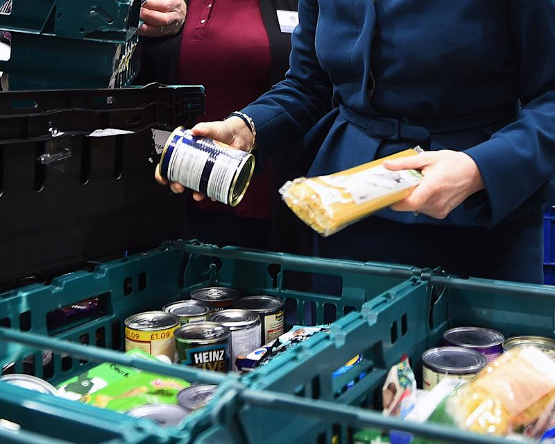 The need for food banks increases in areas where Universal Credit has been in operation the longest, new research suggests. (Photo: PA Wire/PA Images)