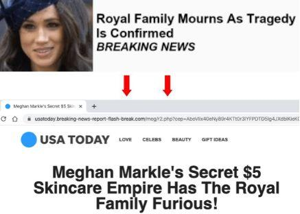 I Love My Freedom newsletters have featured deceptive ads leading to fake news sites imitating legitimate outlets. (Photo: )