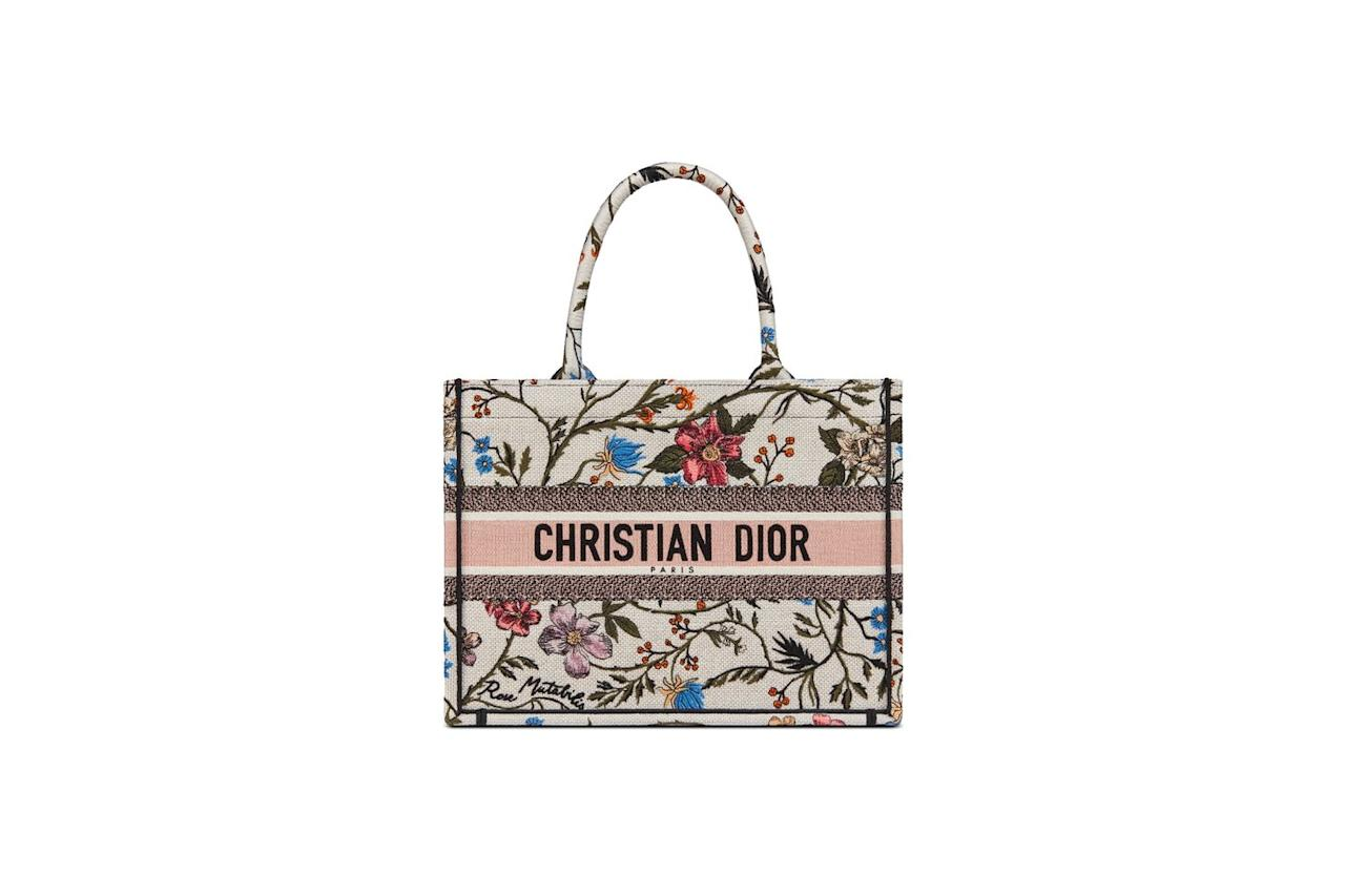 """<p><a class=""""body-btn-link"""" href=""""https://go.redirectingat.com?id=127X1599956&url=https%3A%2F%2Fwww.dior.com%2Fen_gb%2Fproducts%2Fcouture-M1296ZRFS_M885-small-multicolor-rosa-mutabilis-embroidered-dior-book-tote&sref=https%3A%2F%2Fwww.harpersbazaar.com%2Fuk%2Ffashion%2Fwhat-to-wear%2Fg32573921%2Fbest-designer-handbags%2F"""" target=""""_blank"""">SHOP NOW</a></p><p>Dior's Book Tote has quickly become one of the most recognised must-have designer handbags around. The accessory – which is now a staple of the Dior collection – is a great size for carrying around everything you need. If you're in the market for a summer option, we love this colourful embroidered version.</p><p>Tote, £2,050,<a href=""""https://fave.co/2AcMOUc"""" target=""""_blank"""">Dior</a></p>"""