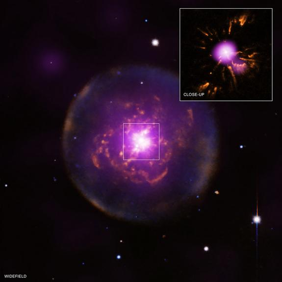 'Born-Again' Nebula Foreshadows Death of Our Sun