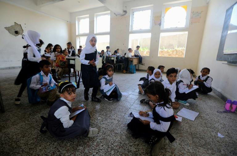 Yemeni teachers have not been paid in nearly two years