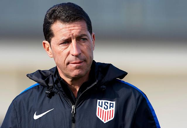 United States men's Under-20 national team head coach Tab Ramos will soon have played or managed at more FIFA tournaments than any man in history. (Getty)