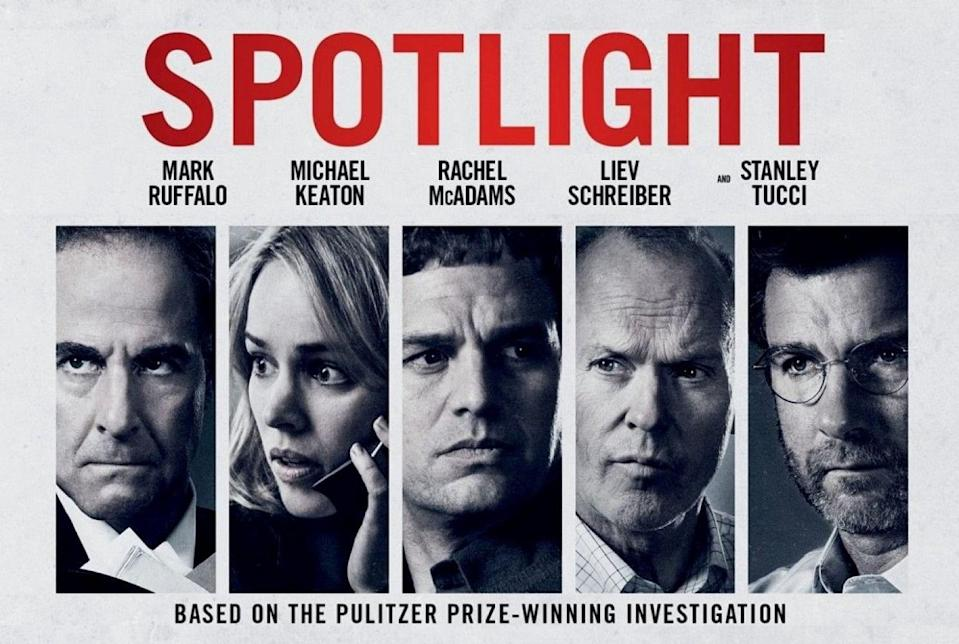 A poster of <i>Spotlight.</i>
