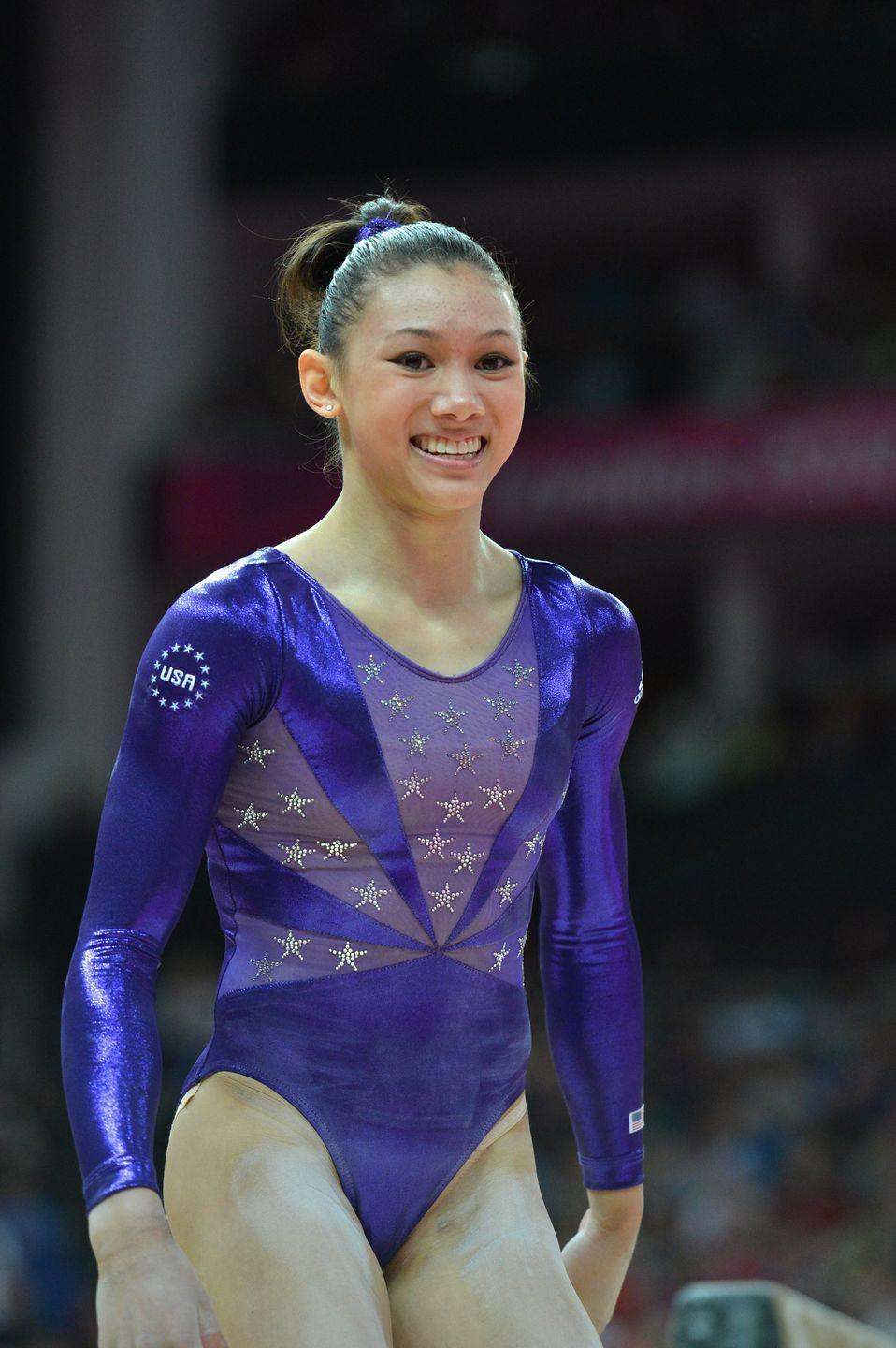 """<p>Kyla Ross rounded out the U.S. gymnastics """"Fierce Five"""" at the 2012 London Olympic Games. Ross earned both a team gold medal as well as an individual silver medal at the Games. </p>"""