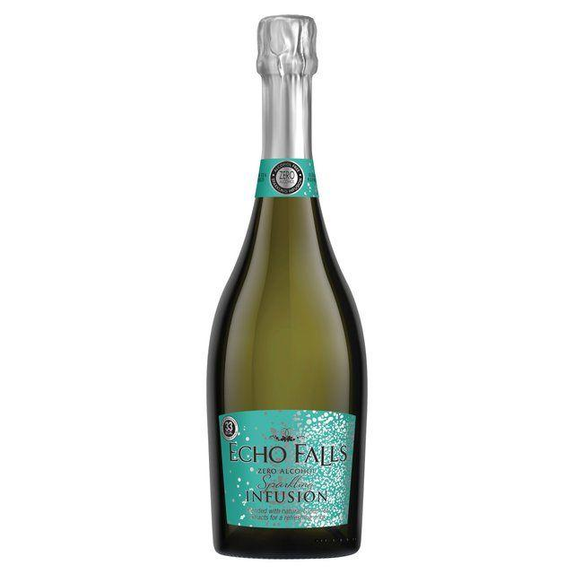 "<p>A sparkling infusion of goodness! This alcohol free sparkling wine has crisp fruit flavours and long lasting fine bubbles. There's also hints of green tea.  </p><p><a class=""body-btn-link"" href=""https://groceries.asda.com/product/no-low-alcohol-wine/echo-falls-0-sparkling-infusion/910001815103"" target=""_blank"">BUY NOW</a> <strong>£3.00 </strong></p>"