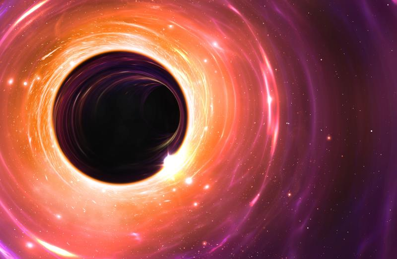 Astronomers Spot Mysterious Flash From Our Galaxy's Supermassive Black Hole