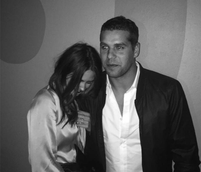 Jesinta and Buddy. Photo: Instagram