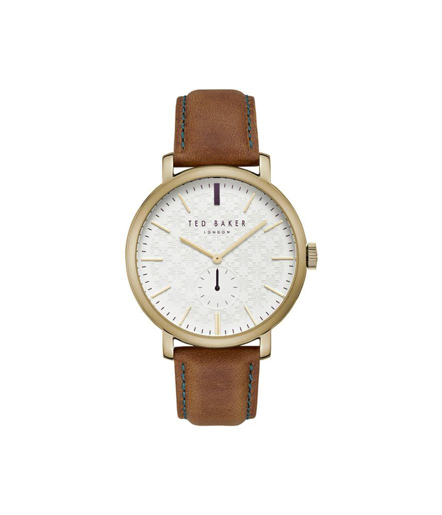 Ted Baker Trent Leather Strap Watch 44mm (Photo: Nordstrom)