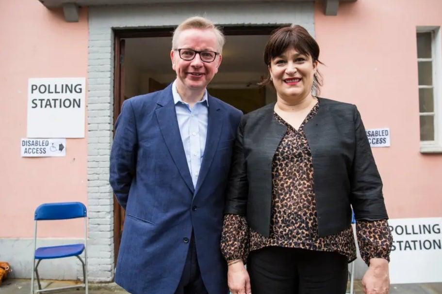 Michael Gove and his wife Sarah Vine are finalising their divorce (Getty Images)