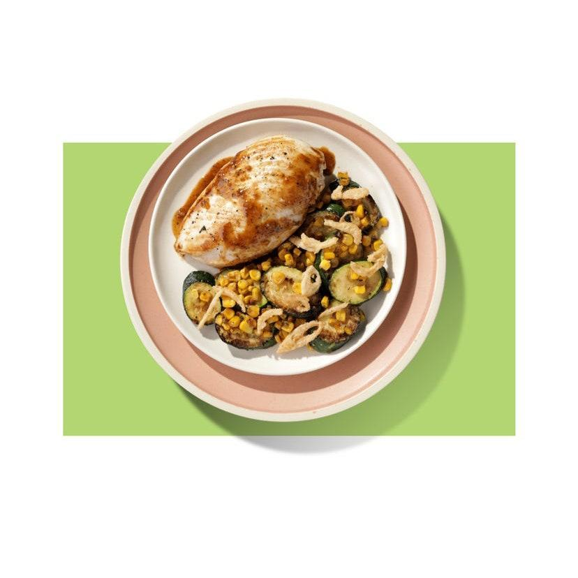 """Fall back on <a href=""""https://www.glamour.com/story/healthy-food-delivery-services?mbid=synd_yahoo_rss"""" rel=""""nofollow noopener"""" target=""""_blank"""" data-ylk=""""slk:a meal kit"""" class=""""link rapid-noclick-resp"""">a meal kit</a> for the busy bee in your life. It's a fail-safe gift that won't go to waste—and they'll probably appreciate not having to go to the grocery store for a change. $59, Home Chef. <a href=""""https://www.homechef.com/the-best?"""" rel=""""nofollow noopener"""" target=""""_blank"""" data-ylk=""""slk:Get it now!"""" class=""""link rapid-noclick-resp"""">Get it now!</a>"""