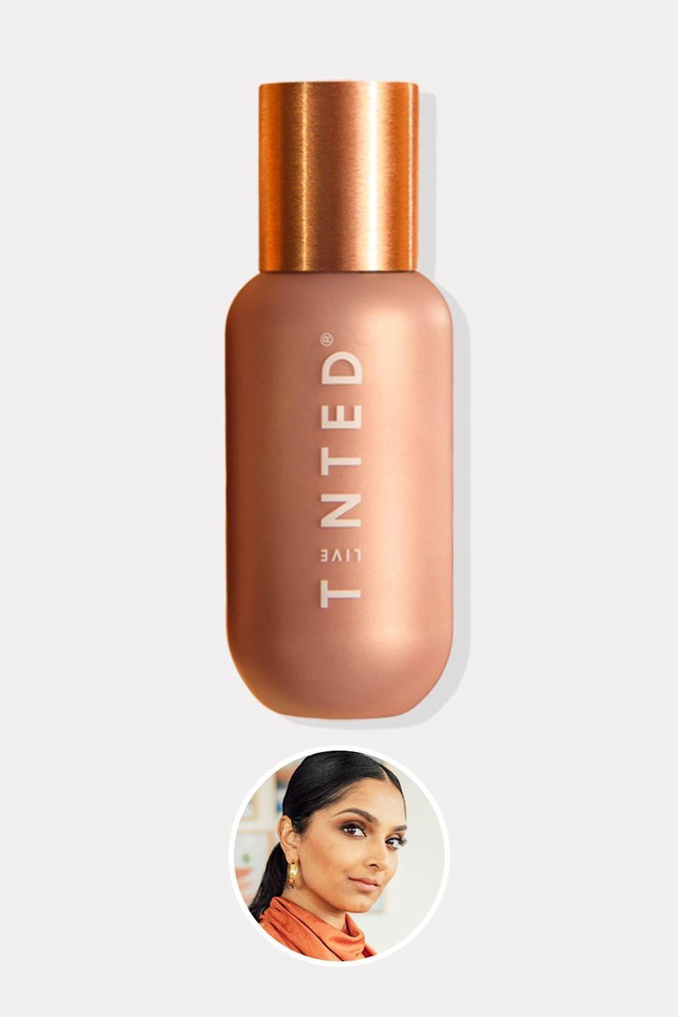 """<p><strong>Live Tinted</strong></p><p>livetinted.com</p><p><strong>$34.00</strong></p><p><a href=""""https://www.livetinted.com/collections/gallery/products/hueglow-dawn"""" rel=""""nofollow noopener"""" target=""""_blank"""" data-ylk=""""slk:Shop Now"""" class=""""link rapid-noclick-resp"""">Shop Now</a></p><p>Remember that Youtube video of the woman applying red lipstick to conceal her undereye circles? That was Deepica Mutyala—and her viral moment was the catalyst for her inclusive brand, Live Tinted. That red lipstick inspired the brand's multi-use Huesticks, which can serve as a color corrector, eye shadow, or lipstick. They're great, but this functional highlighter should not be overlooked: It's serum-like ingredients (hyaluronic acid, squalane, and plant extracts) do very good things for your complexion. </p>"""