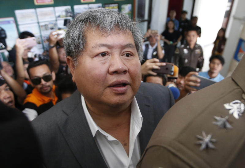 Thai construction tycoon charged with poaching