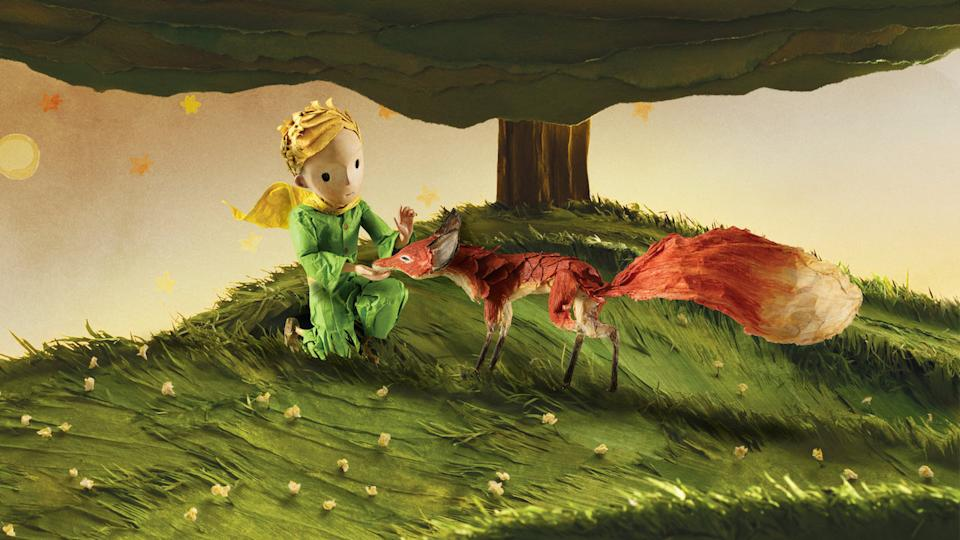 A still from Netflix's The Little Prince