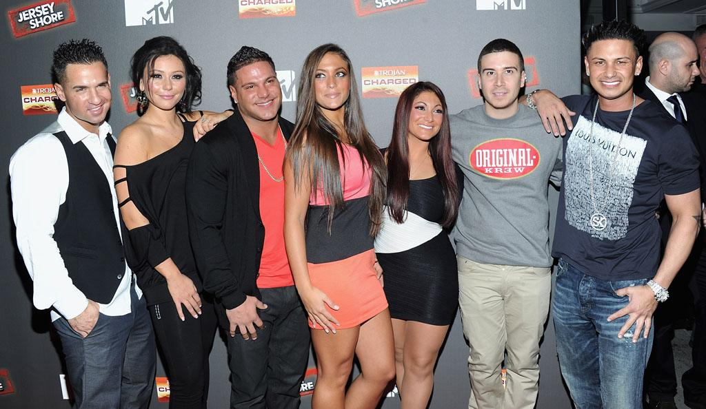 "The cast of ""Jersey Shore"" attends the Final Season Premiere at Bagatelle on October 4, 2012 in New York City."