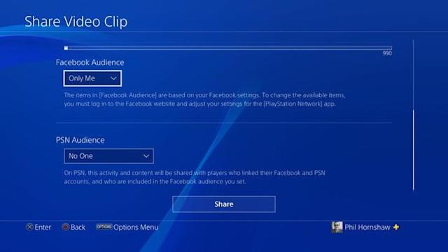 How to record and share gameplay on the PlayStation 4