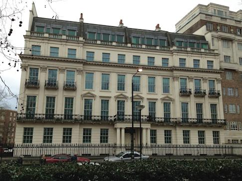 2-8a Rutland Gate in Knightsbridge, overlooking London's Hyde Park, was sold for £210 million to the family office of CC Land's chairman Cheung Chung Kiu, in January 2020. Photo: Wikipedia