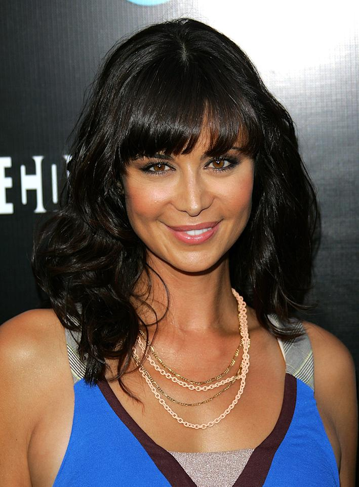 "[ytvperson:id=167266]Catherine Bell[/ytvperson] arrives at the Los Angeles premiere of ""The Company"" on July 16, 2007 Catherine Bell"