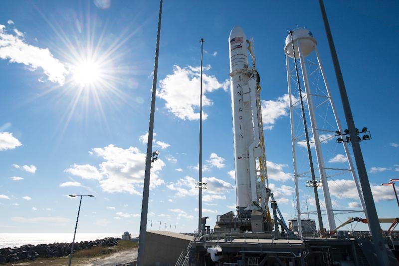 It takes six months and 40 people to assemble an Antares rocket