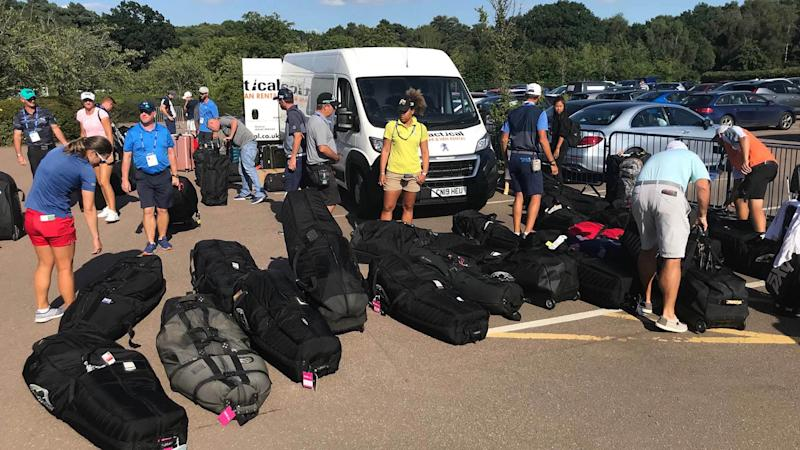 Lexi Thompson's travel gaffe leaves nearly 40 golfers without clubs