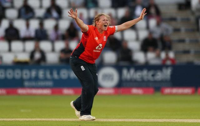 Anya Shrubsole is readying herself for her first competitive England match in six months (David Davies/PA)