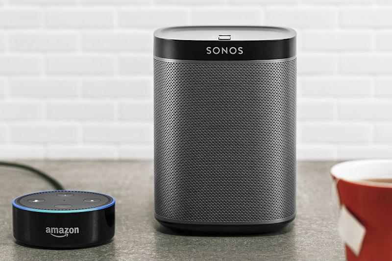 smart home devices Sonos Play 1 Compact Wireless Speaker