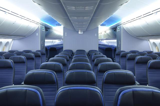 An empty flight: a glimpse of the future?