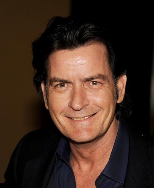 Charlie Sheen is seen at Fox's All-Star Party at Castle Green in Pasadena, Calif. on January 8, 2012  -- Getty Images