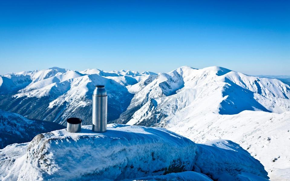 Don't forget your reusables on your next ski trip - Getty