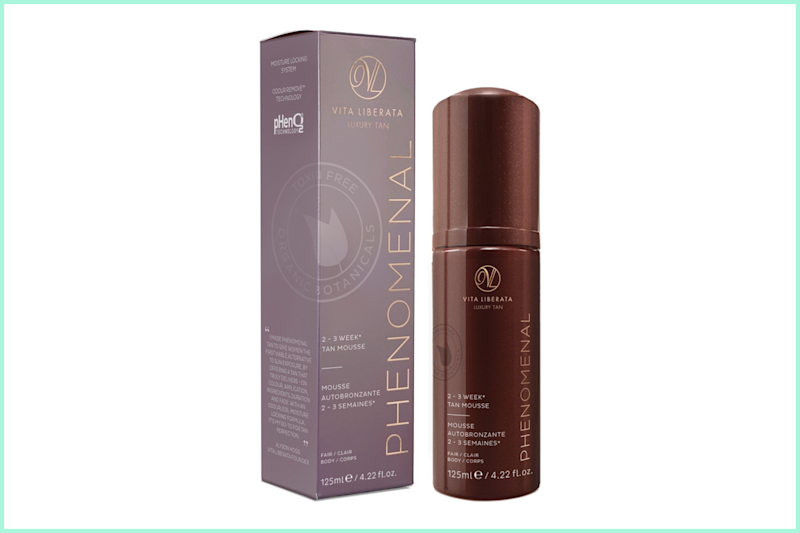 Vita Liberata pHenomenal 2-3 Week Tinted Tan Mousse. (Photo: Ulta)
