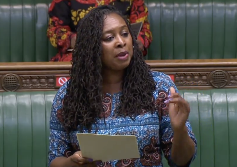 Dawn Butler said structural and systemic racism is 'literally killing' BAME people during the coronavirus pandemic. (Parliamentlive.tv)