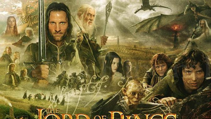The Lord of the Rings trilogy. (Hak cipta film: New Line Cinema)