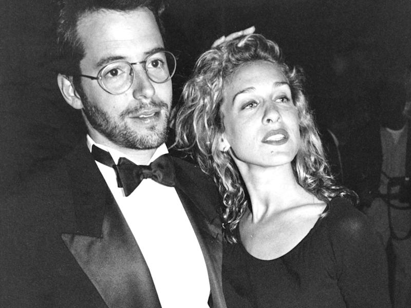The Wedding Day: Sarah Jessica Parker & Matthew Broderick