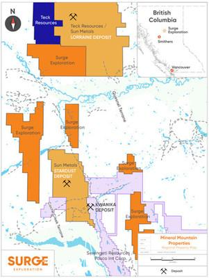 Mineral Mountain Properties (Northcentral BC)