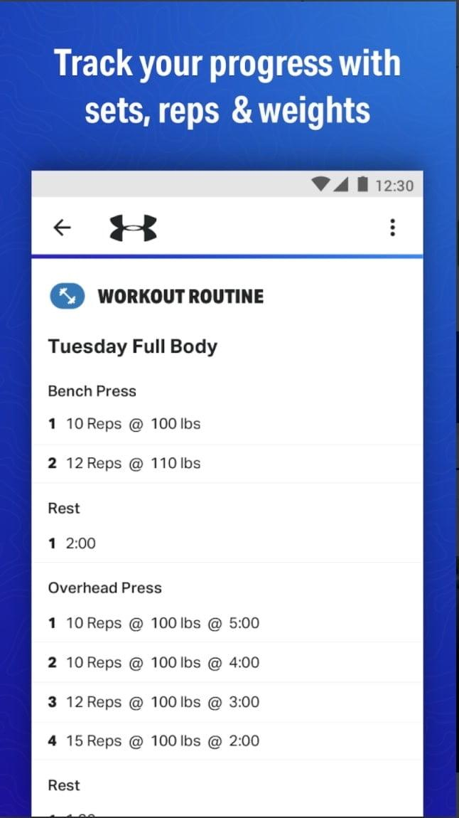 best free workout apps for ios and android map my fitness under armour app1