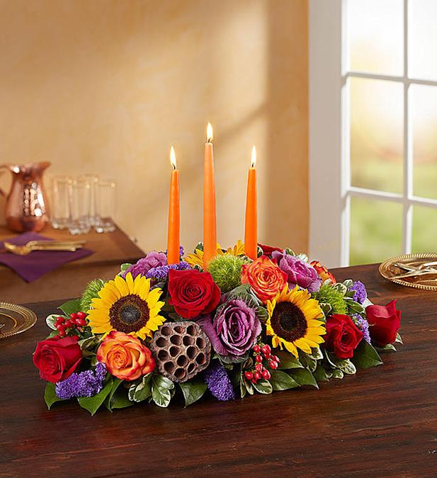 Shop the best thanksgiving flowers and centerpieces