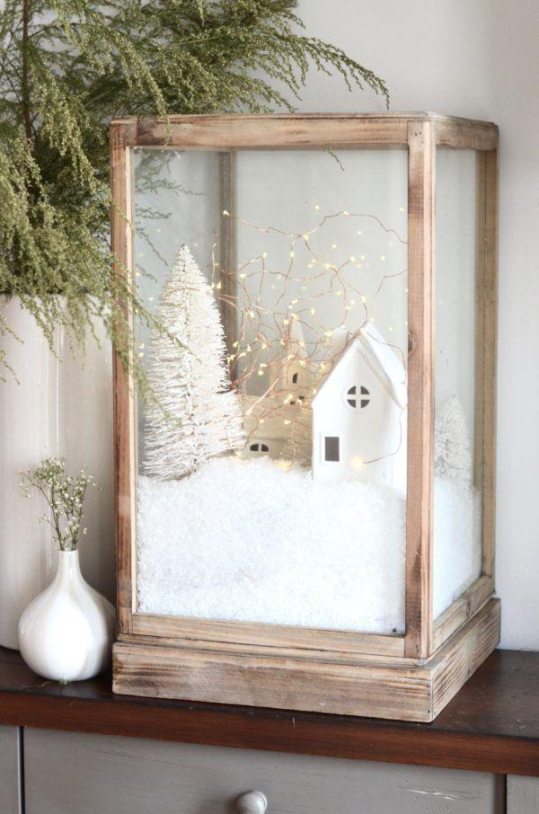 """<p>We're used to seeing miniature villages around this time of year, but none as cute as this. It reminds us of a Christmas terrarium!</p><p><strong>Get the tutorial at <a href=""""https://thenester.com/2016/12/diy-christmas-village-for-the-cozy-minimalist.html"""" rel=""""nofollow noopener"""" target=""""_blank"""" data-ylk=""""slk:Nesting Place"""" class=""""link rapid-noclick-resp"""">Nesting Place</a>.</strong></p><p><strong><a class=""""link rapid-noclick-resp"""" href=""""https://www.amazon.com/MyGift-Clear-Terrarium-Tabletop-Shadow/dp/B01B8GKO8M/?tag=syn-yahoo-20&ascsubtag=%5Bartid%7C10050.g.23489557%5Bsrc%7Cyahoo-us"""" rel=""""nofollow noopener"""" target=""""_blank"""" data-ylk=""""slk:SHOP GLASS BOXES"""">SHOP GLASS BOXES</a><br></strong></p>"""