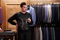 <p>Levy's series, <em>Schitt's Creek, </em>scored five Golden Globe nominations, including best TV musical or comedy series. As for Levy himself, he's nominated for best supporting actor for the first time for his role as David Rose. </p>