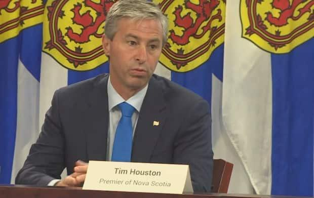 Premier Tim Houston says he expects his government to be held to account and opposition members need the tools to do that. (CBC - image credit)