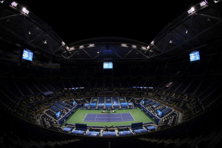 Tennis players faced the prospect of playing in huge arenas with no fans at the US Open