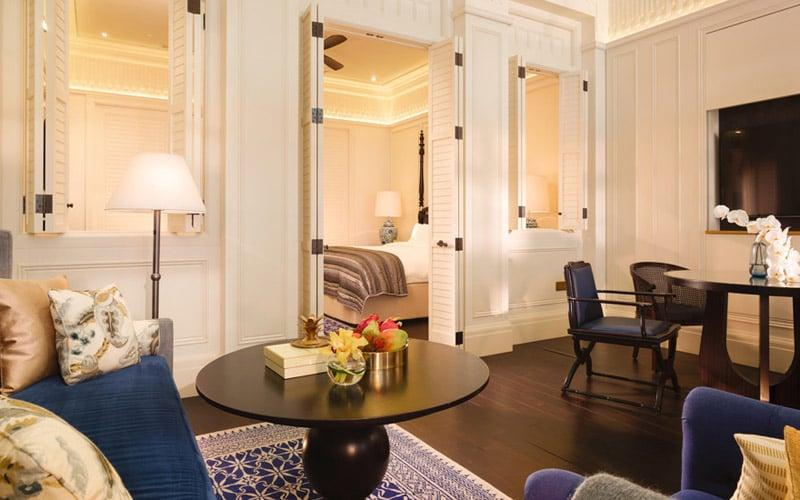 Join a loyalty programme and you might find yourself upgraded at hotels such as Raffles Singapore