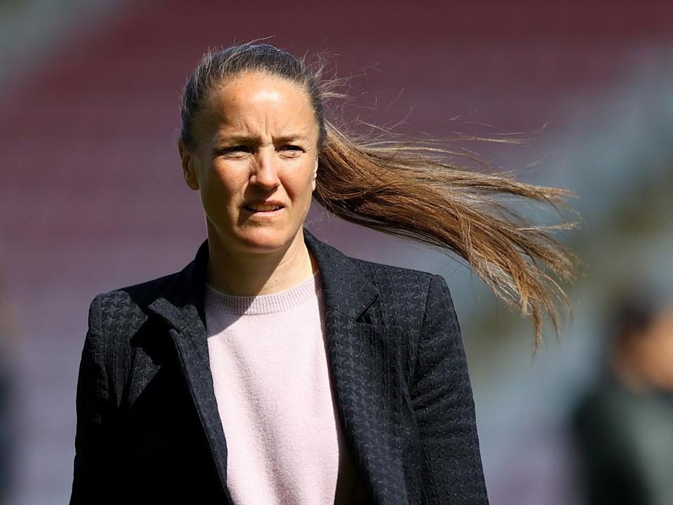 Manchester United women's head coach Casey Stoney (Getty Images)