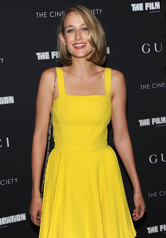 """The Glass House's"" Leelee Sobieski turns 28 Dimitrios Kambouris/<a href=""http://www.wireimage.com"" target=""new"">WireImage.com</a> - June 1, 2011"