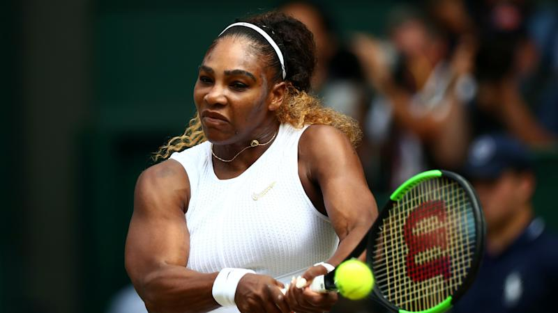 Serena Williams makes winning return to WTA Tour after finding rhythm