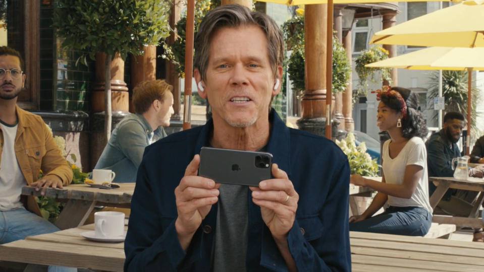 Kevin Bacon has been the face of mobile network EE since 2012. (Credit: EE)
