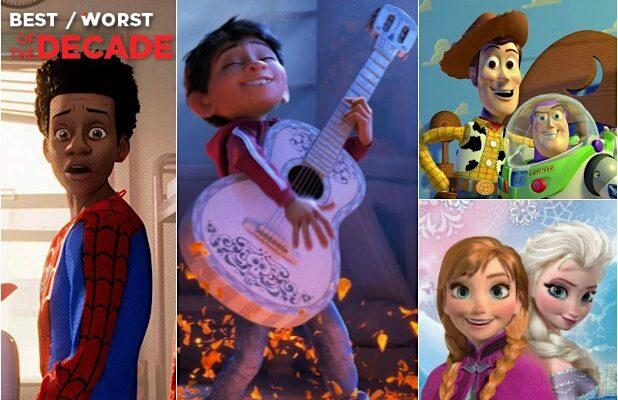 10 Best Animated Films of the 2010s, From 'Spider-Verse' to 'Inside Out' (Photos)